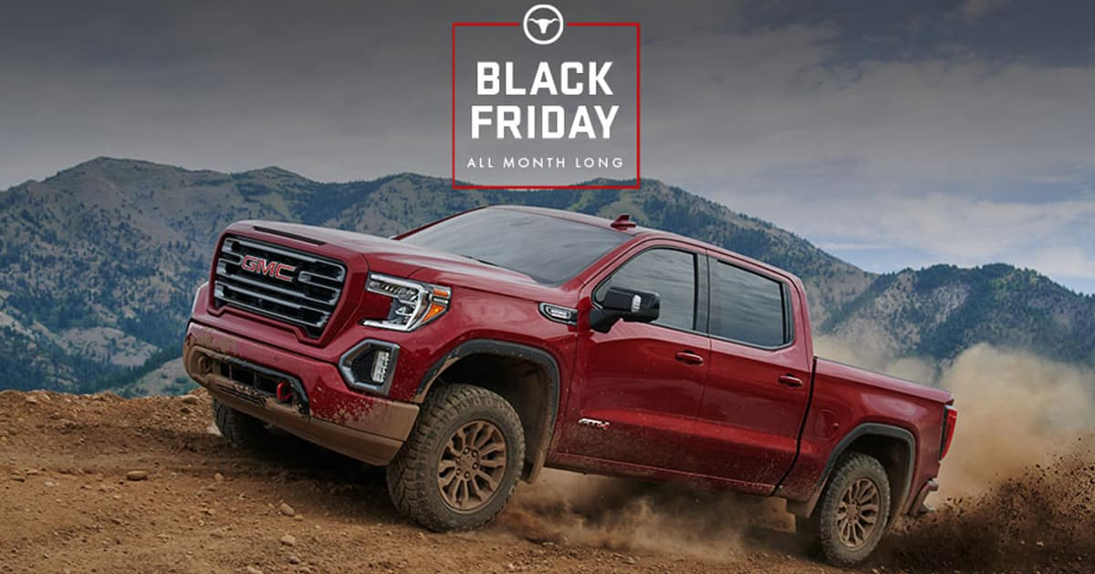 Gmc Black Friday Sales Event Find Your Gmc At Carl Black Kennesaw