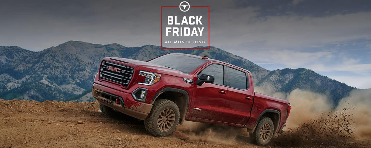 GMC Black Friday Sales Event