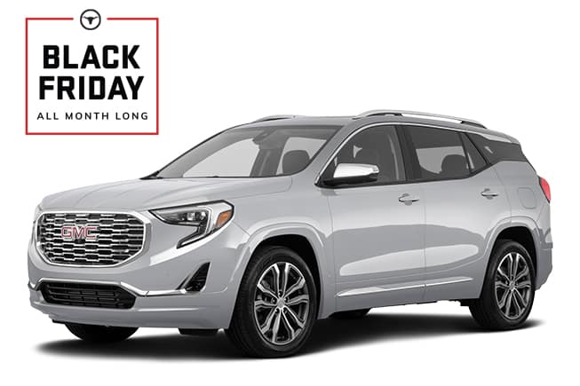 GMC Terrain Denali Black Friday Sales Event