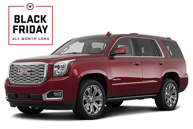 GMC Yukon Denali Black Friday Sales Event