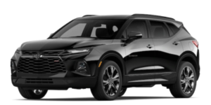2020 Chevy Blazer in Black