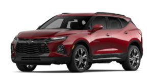 2020 Chevy Blazer in Cajun Red Tricoat