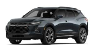 2020 Chevy Blazer in Graphite Metallic