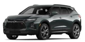 2020 Chevy Blazer in Nightfall Gray Metallic