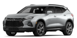 2020 Chevy Blazer in Silver Ice Metallic