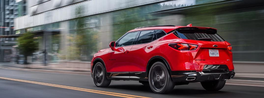 2020 Chevy Blazer color options