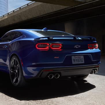2020 Chevy Camaro Rear View