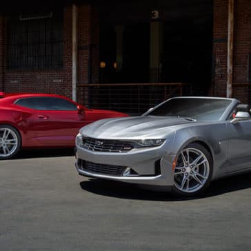 2020 Chevy Camaro Red and Silver