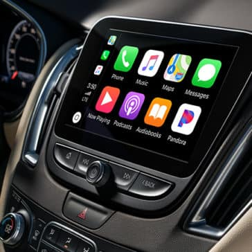 2020 Chevy Malibu Apple Carplay