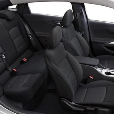 2020 Chevy Malibu Interior Black