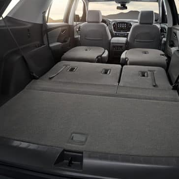 2020 Chevy Traverse Cargo Space
