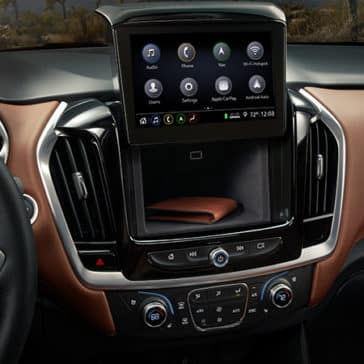 2020 Chevy Traverse Dashboard with Screen