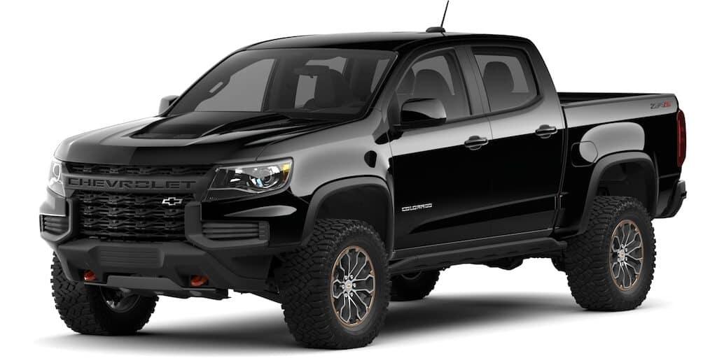 2021 Chevrolet Colorado Black Color