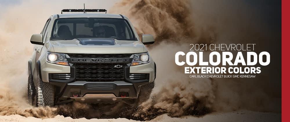2021 Chevrolet Colorado Colors