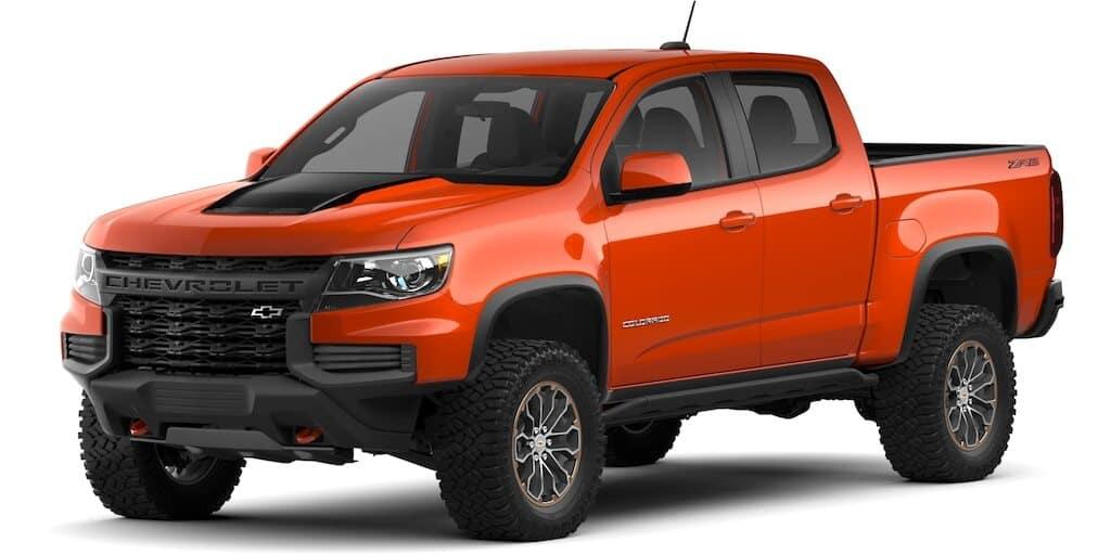 2021 Chevrolet Colorado Crush Color