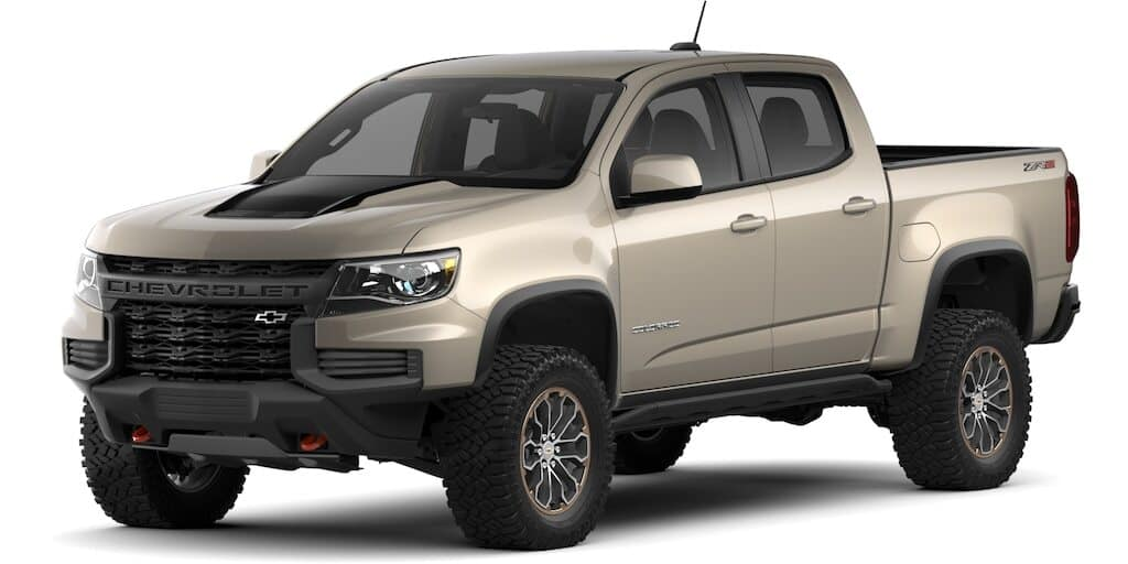 2021 Chevrolet Colorado Sand Dune Metallic Color