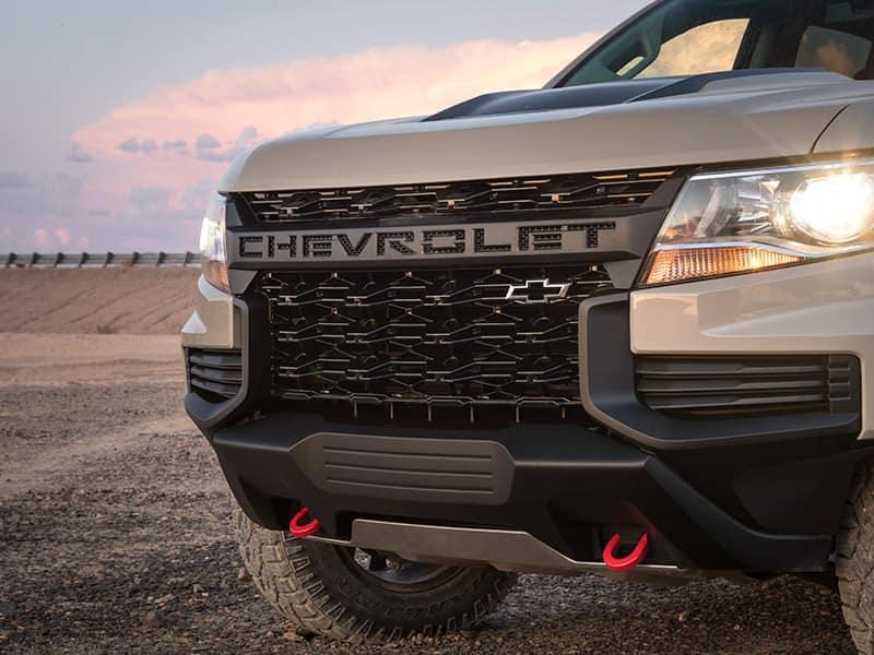 2021 Chevrolet Colorado front grille