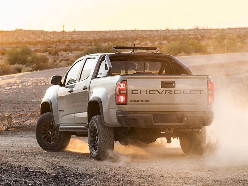 2021 Chevrolet Colorado tailgate view