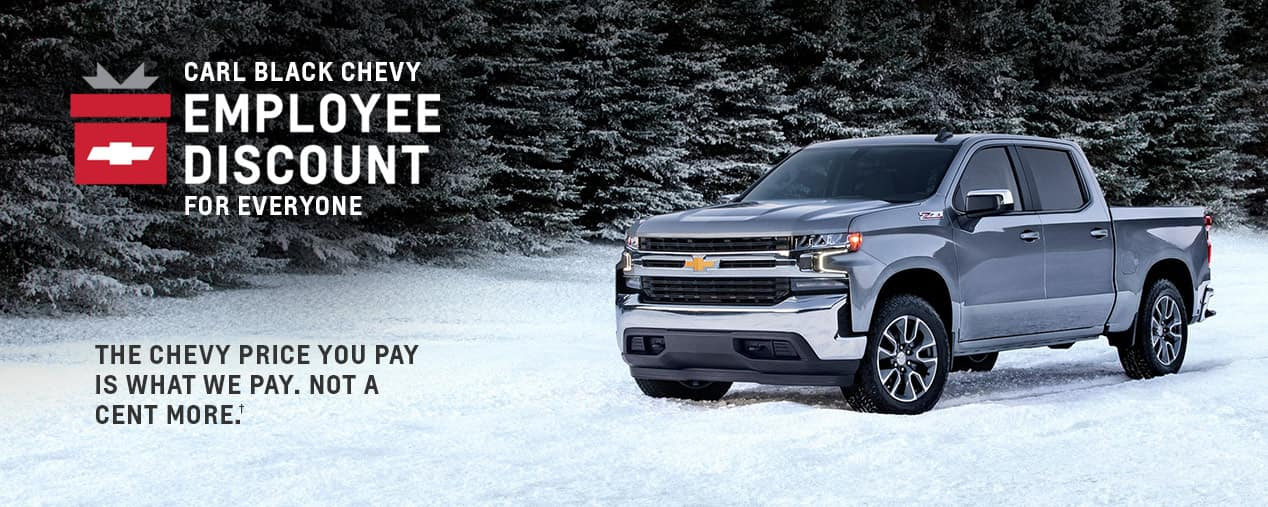 Chevy Employee Discount