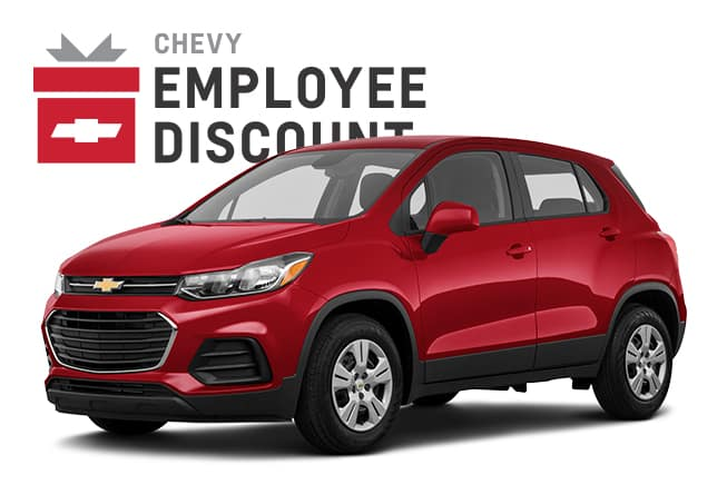 2020 Chevy Trax Employee Discount