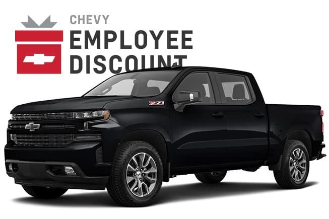 2019 Silverado 1500 RST Chevy Employee Discount