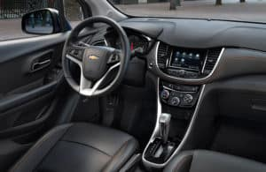 Dashboard of the 2020 Chevy Trax