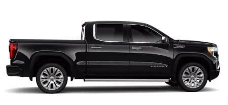 Onyx Black 2020 GMC Sierra Denali exterior passenger side profile