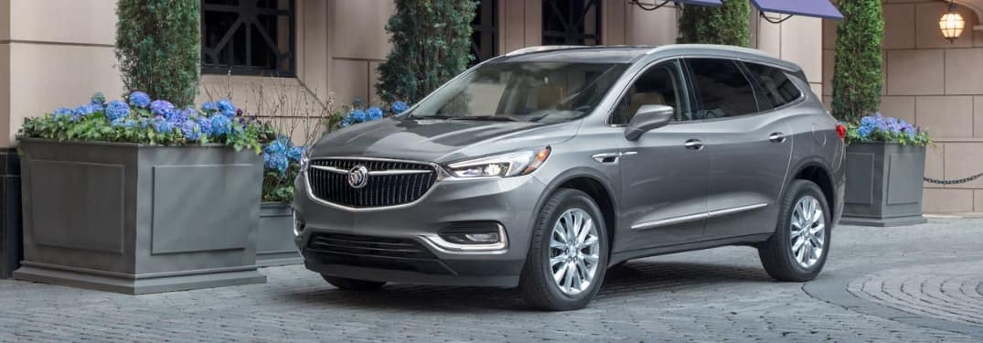 2020 Buick Enclave parked on the side of the street