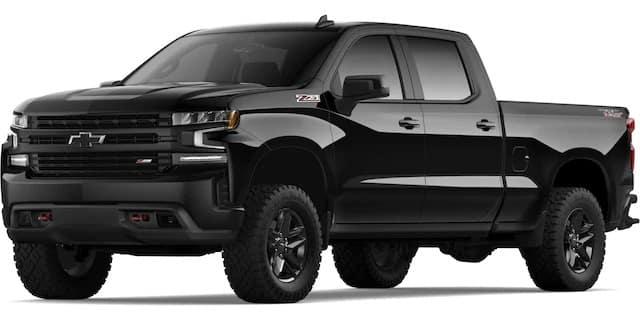 2020 Chevrolet Silverado Black