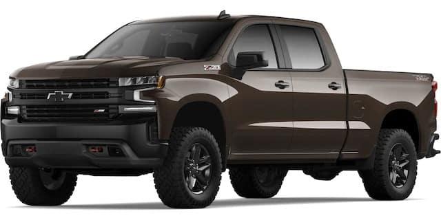 2020 Chevrolet Silverado Havanna Brown Metallic