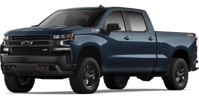 2020 Chevrolet Silverado Northsky Blue Metallic