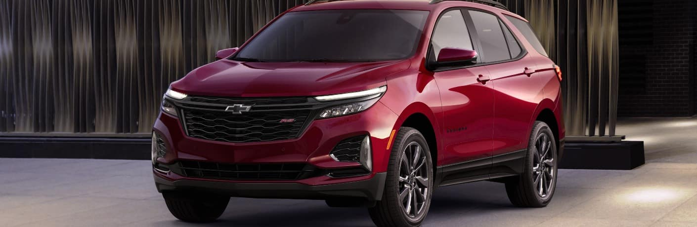 2021 Chevrolet Equinox front end