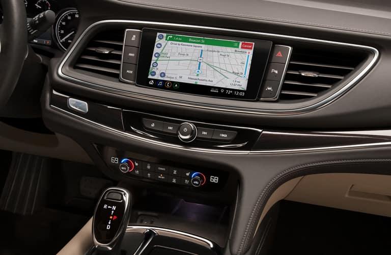 2020 Buick Enclave center console