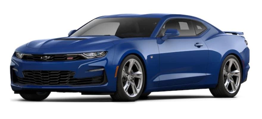 2020 Chevrolet Camaro Riverside Blue Metallic