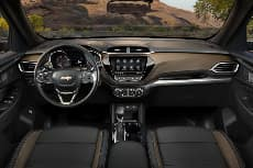 2021 Chevrolet Trailblazer Dashboard