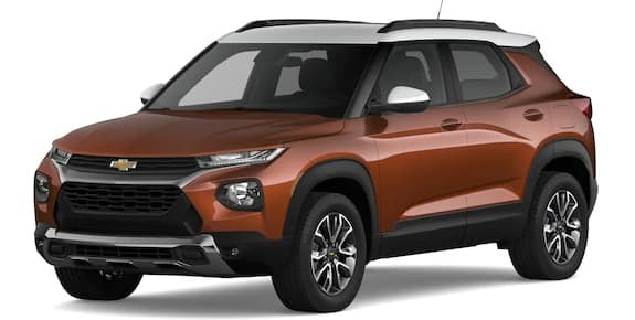 2021 Chevrolet Trailblazer Dark Copper Metallic and Summit White