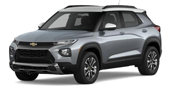 2021 Chevrolet Trailblazer Satin Steel Metallic and Summit White