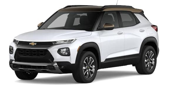 2021 Chevrolet Trailblazer Summit White and Zeus Bronze Metallic