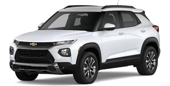 2021 Chevrolet Trailblazer Summit White