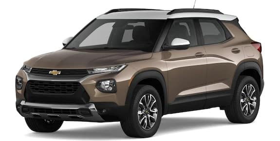 2021 Chevrolet Trailblazer Zeus Bronze Metallic and Summit White