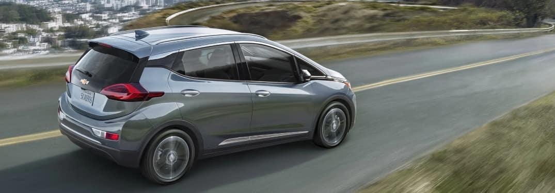 2020 Chevrolet Bolt cruising down the road