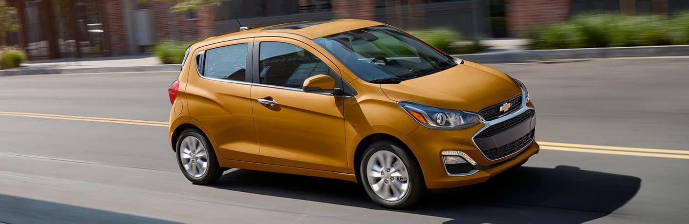 2020 Chevrolet Spark going down the road