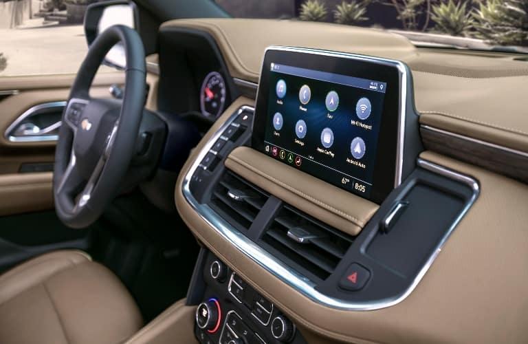 2021 Chevrolet Suburban Dashboard