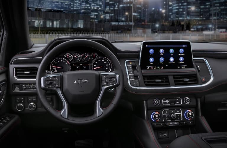 2021 Chevrolet Tahoe Dashboard