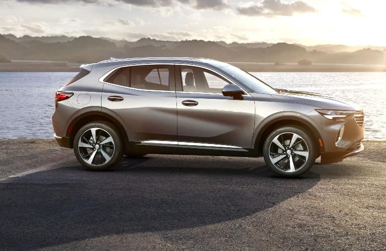 Profile View of the 2021 Buick Envision