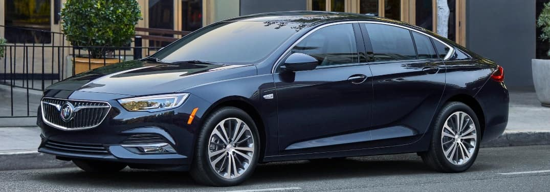 2020 Buick Regal Sportback parked on the side of the street