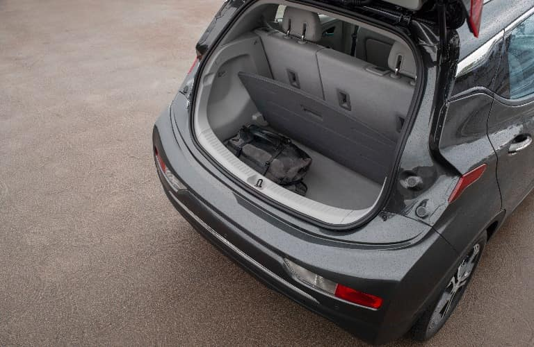 2020 Chevrolet Bolt EV with trunk open