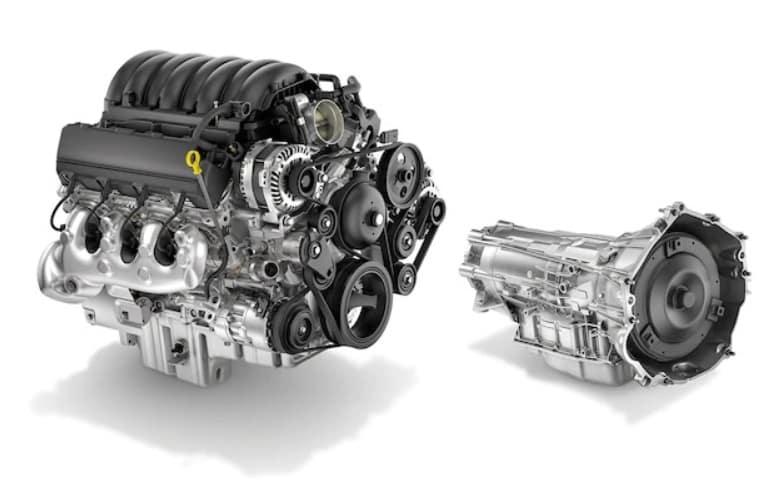 2020 Chevrolet Silverado HD 6.6-liter gas engine