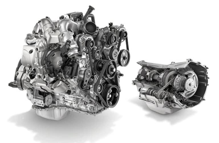 2020 Chevrolet Silverado HD Duramax 6.6-liter engine