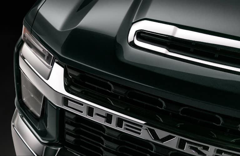 2020 Chevrolet Silverado HD front grille